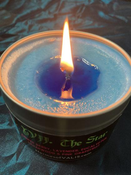 Aquarius Candle